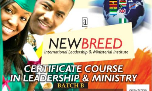 Certificate Course in Leadership and Ministry